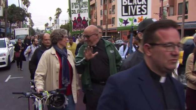 Faith Leaders March in Bay Area Against White Supremacy