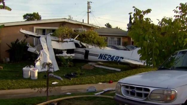 Feds Investigate Small Plane Crash Into San Jose House