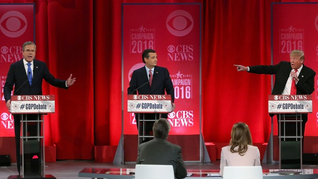 Discussion Gives Way to Brawl During GOP Debate