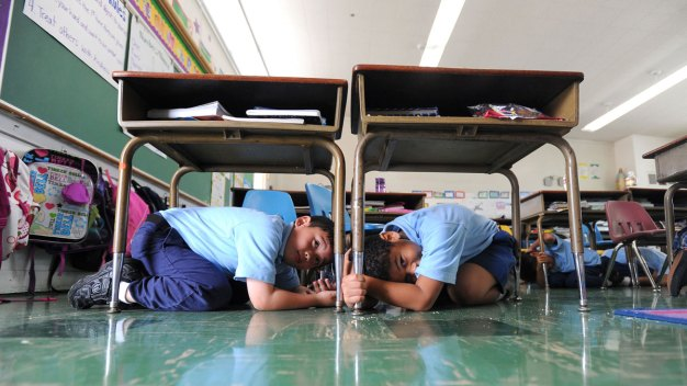 Bay Area to 'Drop, Cover, Hold On' in Earthquake Drill