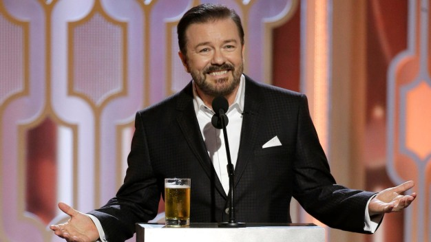Ricky Gervais Returning to Host the 2020 Golden Globe Awards