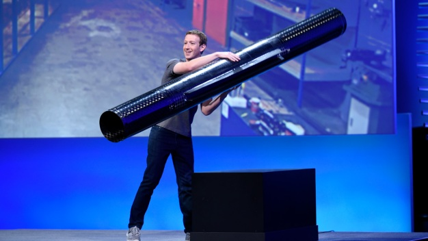 Facebook Drone Could One Day Provide Global Internet Access