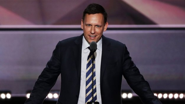 Peter Thiel Breaks New Ground at RNC