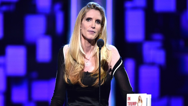 Coulter Appears in Modesto After Being Botted From Berkeley