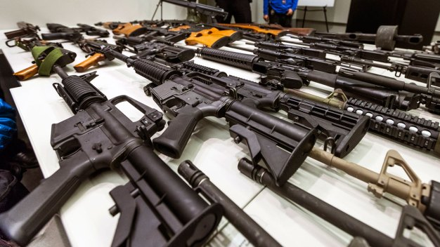 Petitions Cleared in Push Against California Gun Laws