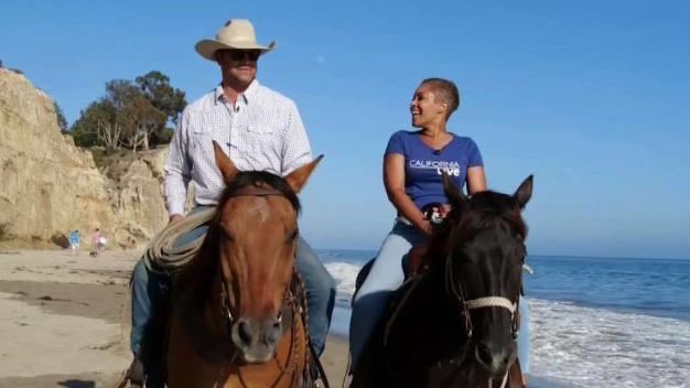 Horseback Riding on the Beaches of Santa Barbara