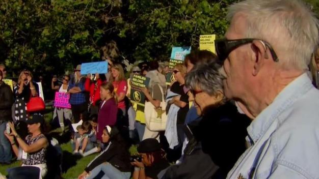 Hundreds in North Bay Hold Vigil For Separated Families