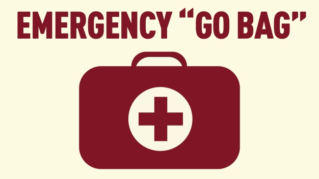 Be Prepared: What You Need For an Emergency 'Go Bag'