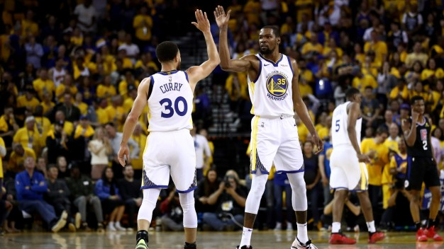 Curry Named All-NBA First Team, Durant Makes Second Team