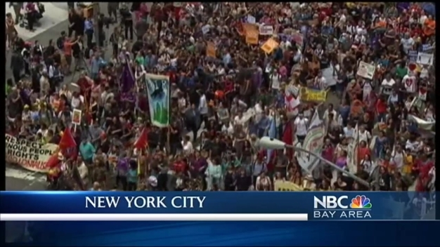 Climate March Calls for Global Warming Awareness