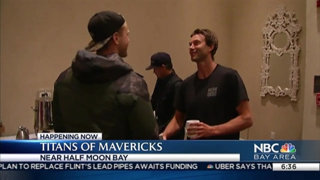 What Champions Eat for Breakfast: Mavericks Surfers Chow Down Before Surfing Contest