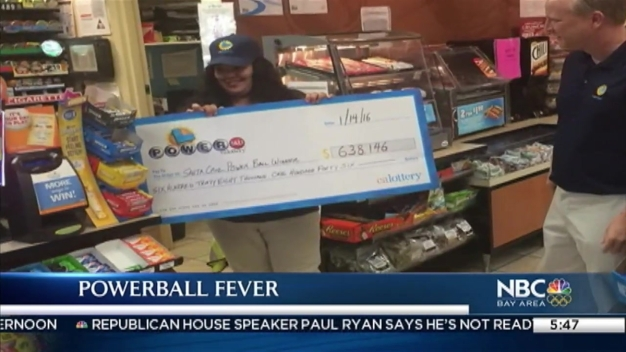 Customers Hope Powerball Lightning Strikes Twice at Lucky Dixon Landing Chevron in Milpitas