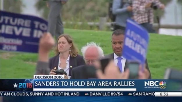 Bernie Sanders at Oakland Church, City Hall on Memorial Day
