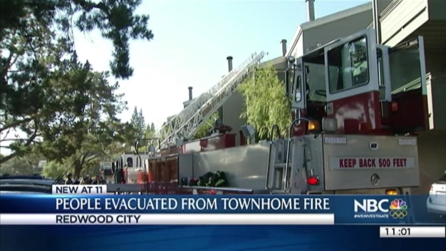 Two-Alarm Redwood City Blaze Causes Firefighter to Get Dizzy