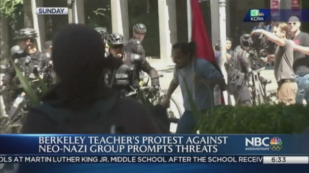 Anti-Trump Berkeley Teacher Threatened After White Supremacist Rally in Sacramento