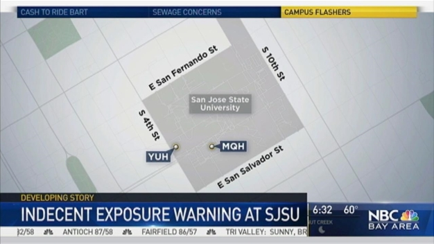 Suspects Flash Two Students at San Jose State University