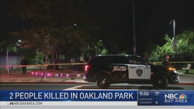 Double Homicide in Oakland's Chavez Park