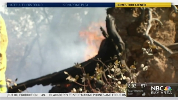 Loma Fire 22 Percent Contained, Some Evacuations Lifted