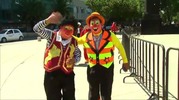 Clown Convention Kicks Off in Mexico