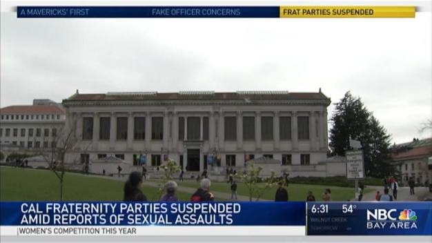 No More Fraternity, Sorority Parties at UC Berkeley After 'Vile and Unjust' Sex Assault Reports