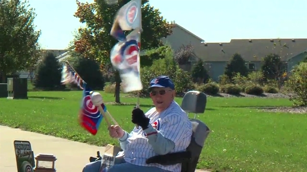 91-Year-Old Chicago Cubs Fan