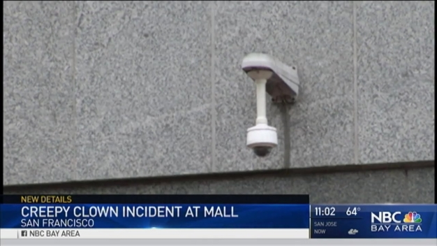 Men Toting Clown Masks, Gun Spotted at San Francisco Mall