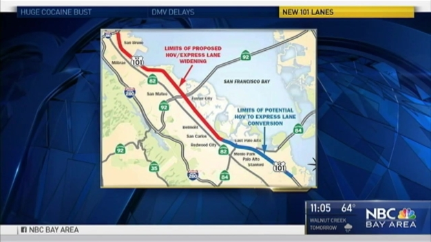 Grand Plans to Unclog Highway 101 in Silicon Valley