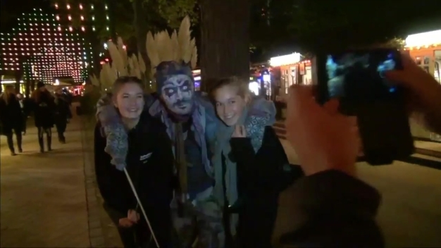 Denmark Celebrates Halloween at Copenhagen's Amusement Park