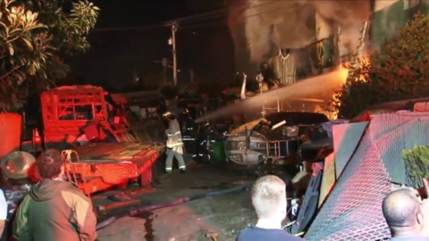 RAW: Oakland Warehouse Fire Leaves at Least 9 Dead