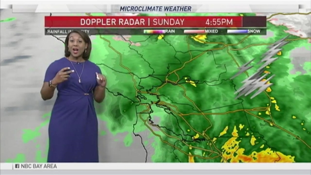 Forecast: Showers Will Continue Into Monday