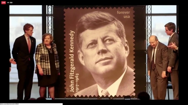 Forever Stamp Dedicated to the 35th President John F. Kennedy