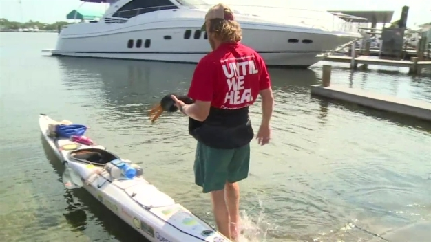 Virginia Man Kayaks 1,000 Miles to Raise Money