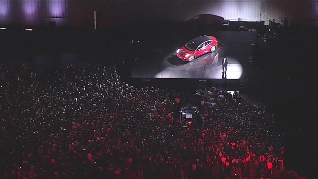 RAW:  Tesla Unveils Much-Awaited Model 3