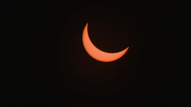RAW: Time Lapse Captures Solar Eclipse Across West Coast