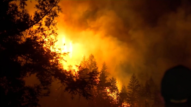 RAW: Fire in Santa Cruz Mountains Prompts Evacuation Orders
