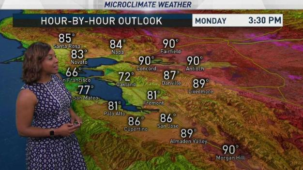 Kari's Forecast: Heating Up Inland