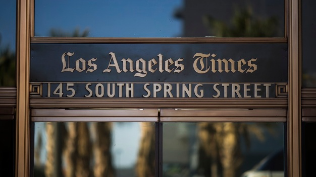 Billionaire to Take Control of the LA Times Monday