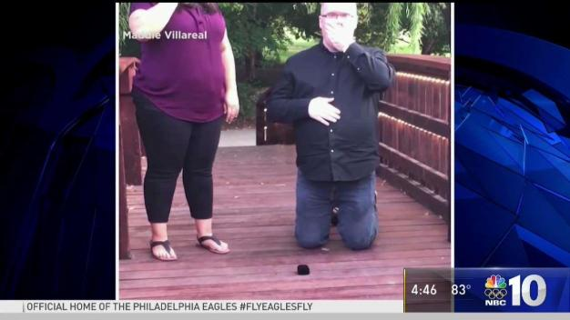 Proposal Fumble Turns into Viral Moment