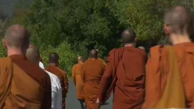 Mendocino Monks Return After Destructive Wildfires