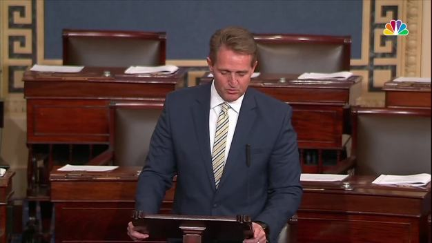 GOP Sen. Flake Criticizes Trump and Fake News Claims