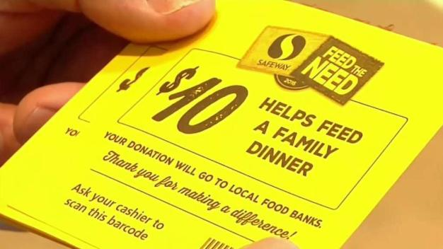 NBC Bay Area and Safeway Help Feed Families in Need