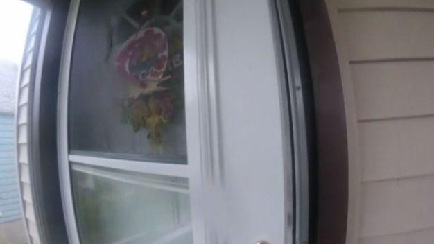 Half-Naked Intruder Scares Boy With BB Gun