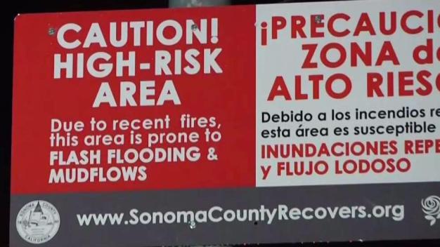 North Bay Burn Zones on Alert For Possible Mudslides