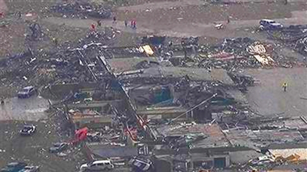 WATCH: Second Tornado Touches Down in Oklahoma
