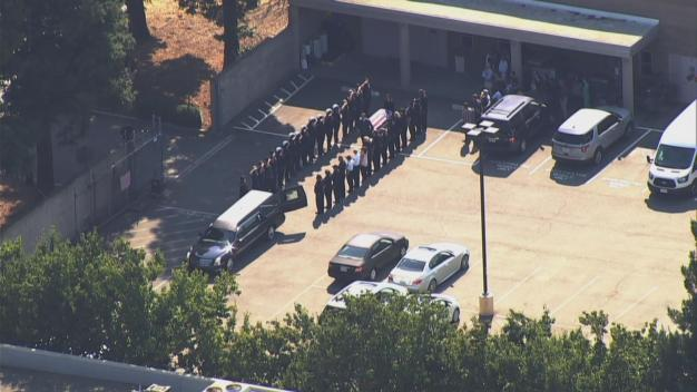 Procession Held for Oakland Firefighter