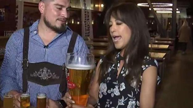 Oktoberfest Starts Early at Schroeder's Block Party