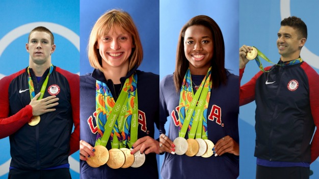 Pac-12 Athletes Rack Up 55 Medals in Rio