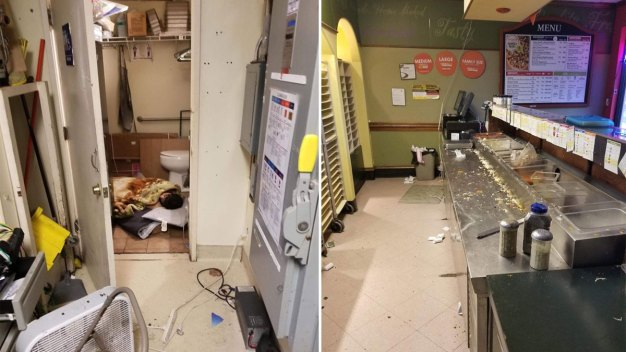 'Disgusting' Photos From Pacifica Pizza Place Go Viral