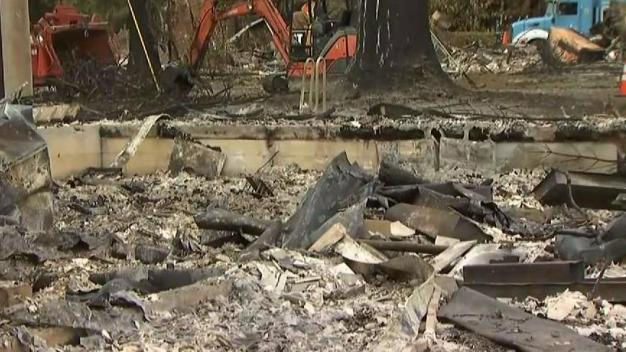 Rebuilding Begins in North Bay After Fires