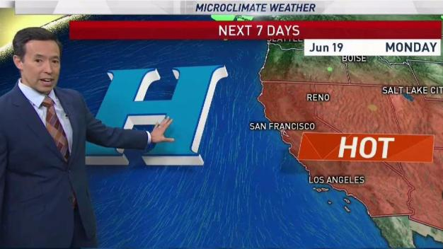 Rob's Forecast: Scorching Inland Temperatures